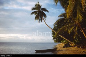 PICTURE CREDIT DOUG BLANE Canoe tent on a beach on the Island of I'll Sait Marie Madagascar